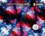 Cotton Candy Nebula Pink Blue Galaxy Space Milky Way Outer Space Hydrographics Pattern Film Buy Supplies Big Brain Graphics White Base Quarter Reference