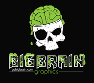 Brain Wear Logo Hoodies