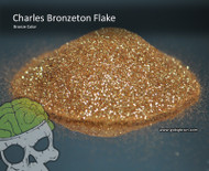 Charles Bronzeton Bronze Candy Paint Flakes Flake Big Brain Graphics Hydrographics Spray Gold