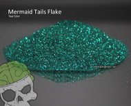 Mermaid Tails Teal Flake Metal Flake Awesome Automotive Clear Big Brain Graphics Hydrographics Sprayable Spray