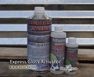 Express Clear Fast Dry Activator Hardener UV Protected Awesome Clear Automotive Trusted Big Brain Graphics Hydrographics Clears