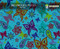 Butterfly Paisley Flower Colorful Girly Girl Woman Hydrographics Film Pattern Big Brain Graphics Light Blue Base