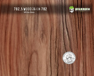 782 Fancy Straightgrain Detailed Wood 50 CM Woodgrain Big Brain Graphics Hydrographics Film Pattern White Base Quarter Reference