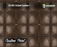 Tooled Leather Etched Detailed Leather Panel Custom Printed Hydrographic Film Hydrographics Big Brain Graphics Trusted Seller