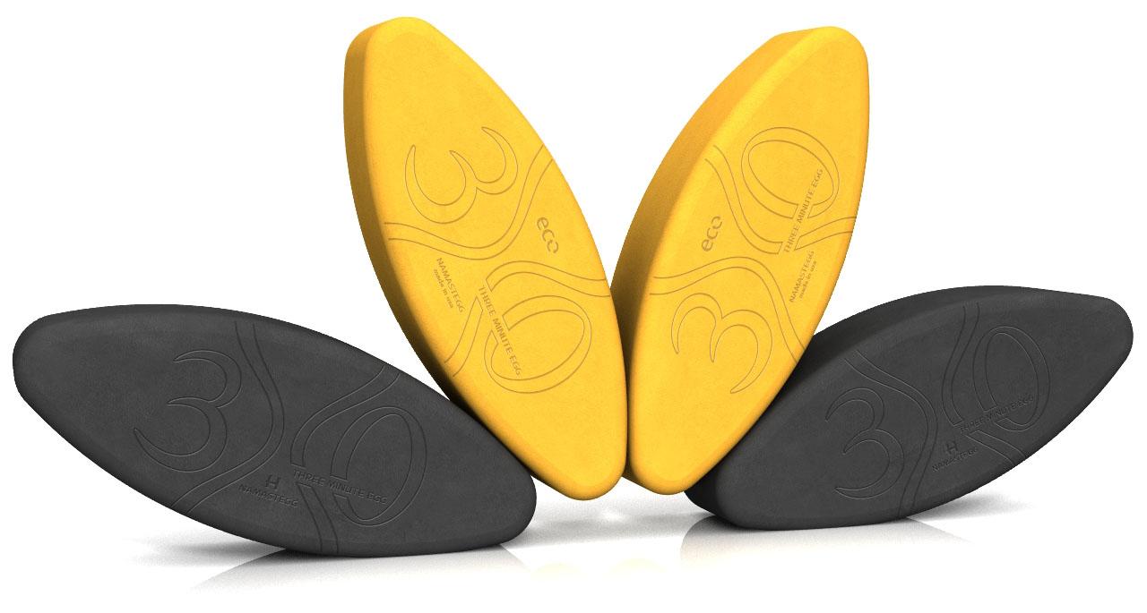 Best Yoga Gifts - Yoga Egg Block Shakti Snack ECO Gold Charcoal