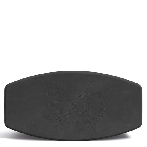 """N.Y.O.B. (Not. Your. Ordinary. Block!) by Three Minute Egg - 13"""" Yoga Block - Charcoal"""