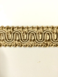 "5/8"" GIMP HEADER-59/3-2      (Beige & Cream)"