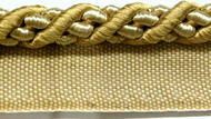 "3/8"" CORD EDGE WITH LIP-3/12       (Antique Gold)"