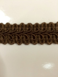 "5/8"" GIMP HEADER-14/8                    BROWN"