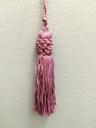 "3"" CHAINETTE KEY TASSEL-1/29              PURPLE"