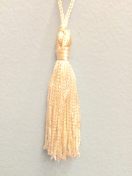 "3"" WRAP CHAINETTE KEY TASSEL-1/1-2        OFF WHITE"