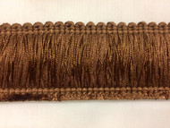 "Sold by the Yard 1.75/"" 100/% Cotton Brush Fringe Trim BRF-2//2-10-37 Extra Thick"