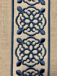"4/"" Crystal Beaded Tassel Fringe Trim       Dark Antique//Cranberry   TF-46//7-33"