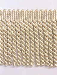 "2.5"" BULLION FRINGE-1/2       CREAM"