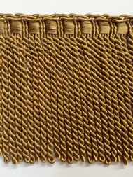 "6"" BULLION FRINGE-6/12-17     DARK ANTIQUE GOLD"