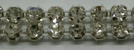 CZECH CRYSTAL STONE DOUBLE ROW