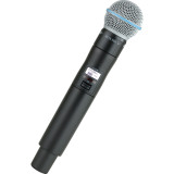 Shure ULXD2/B58 Handheld Transmitter with BETA 58A Microphone