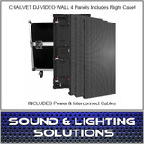 Chauvet DJ VIVID4X4 4.8MM VIDEO WALL PANEL KIT w/Case & Cables