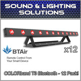 (12) Chauvet COLORband T3 BT RGB LED Linear Wash Light with built-in Bluetooth