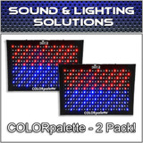 (2) Chauvet DJ COLORpalette 288 LED RGB Panel