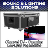 Chauvet DJ Cumulus Professional DJ Club Party Low-Lying Fog Machine