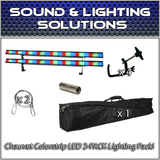(2) Chauvet DJ Colorstrip LED Linear Wash Package