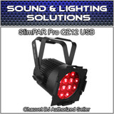 Chauvet DJ Slimpar Pro QZ12 D-Fi USB RGBA Wash Light DMX Par Can w/ Zoom