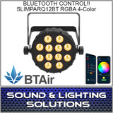 Chauvet DJ SlimPAR Q12 BT Wash Light (RGBA) with built-in Bluetooth BTAir