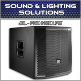 "JBL PRX 818XLFW 18"" 1500W Powered Low Freq Subwoofer w/ WiFi"