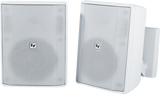 "EVID-S5.2T 5"" Cabinet 70/100V Pair (White)"