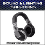 Pioneer HDJ-X5 Over-Ear DJ Mixing Monitoring Detachable Cable Headphones (Silver)