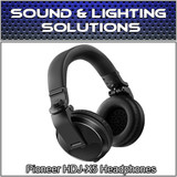 Pioneer HDJ-X5 Over-Ear DJ Mixing Monitoring Detachable Cable Headphones (Black)