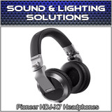 Pioneer HDJ-X7 Professional Over-Ear DJ Headphones w/ Detachable Cables (Silver)