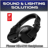 Pioneer HDJ-X10 Professional DJ Headphones w/ Detachable Cables (Black)