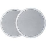 "Electro-Voice EVID-C4.2LP Ceiling speaker 4"" low profile white ( 1 Pair )"