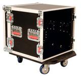 G-TOUR 10U CAST 10U, Standard Road Rack w/ Casters Flight Box (G-TOUR 10U CAST)