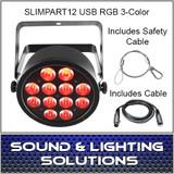 Chauvet DJ SlimPAR T12 USB RGB 3 Color LED