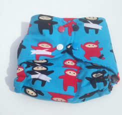 Kickin' Bottom Ninjas diaper cover