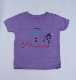 I'm a Geek and a Princess shirt