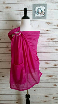 Fuschia water ring sling
