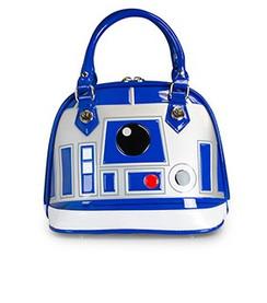Star Wars R2-D2 Blue/White/Silver Mini Dome Bag