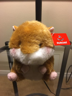 Aurora Polly Pets Plush - folic hamster