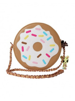 Tokidoki Donutella round crossbody bag