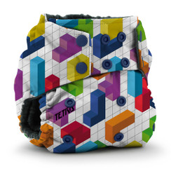 Kangacare - tetris diaper Rumparooz OBV - block party