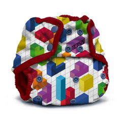 Kangacare - tetris diaper cover- block party