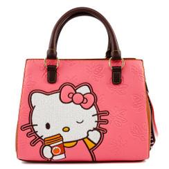 HELLO KITTY PUMPKIN SPICE LATTE WAVE CROSSBODY BAG