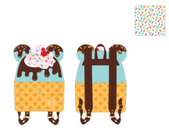 PREORDER for Feb - Mickey Ice Cream Mini backpack
