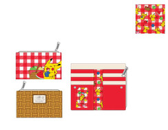 PREORDER for Feb -Pikachu Picnic Basket wallet
