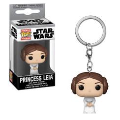 Star Wars Princess Leia Pocket Pop! Key Chain