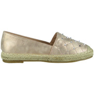Carmel Champagne Slip On Espadrilles Shoes
